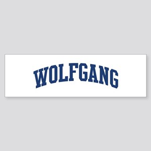 WOLFGANG design (blue) Bumper Sticker